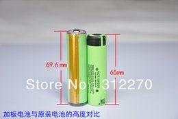 Wholesale for Panasonic NCR18650B Protected Rechargeable mAh V Lithium Batteries