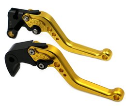 Wholesale Eight Colors Short CNC Brake Clutch Levers For KAWASAKI ZX6R ZX636R ZX6RR ZX10R Z1000 ZZR600