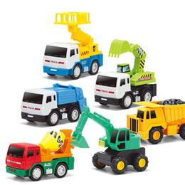 Wholesale Playmobile Model Planes Pixar Cars Diecast Car Model Mini Machine Caterpillar Construction Toy Truck Mini Machine Set Dump Truck Bulldozer
