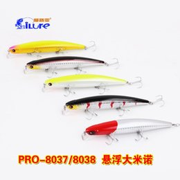 Wholesale Fishing Lure i Lure Wobblers Minnow g mm VMC Hook PRO Artificical Bait Isca Artificial Boat Fishing Big Game