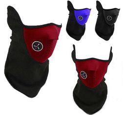 Bufanda para el frío en Línea-Máscara de cuello al aire libre calentador Máscara de frío tiempo caliente motocicleta lana bicicleta de hielo bufanda