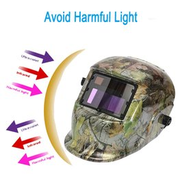 Wholesale New Stylish High Quality Solar Auto changing Shade Welding Helmet Grinding Welder Mask PIT_110