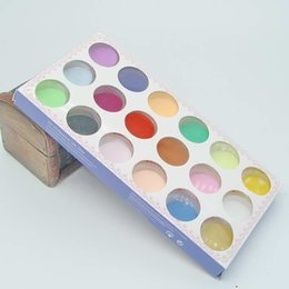 Wholesale Hot sale Manicures Sculpture powder one box mm kinds colors professional for nail art decorations