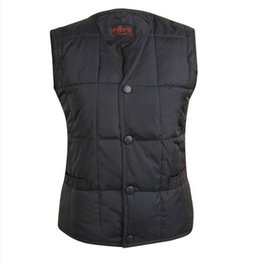 Fall-Free Shipping Man Down Vest Winter Super Warm 90% White Duck Down Middle Age Male Duck Feather Waistcoat For Father Daddy