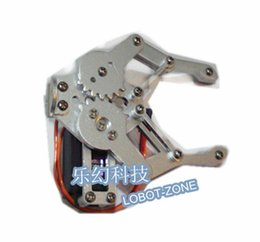Wholesale Mechanical mechanical arm robot claws steering gear metal paw