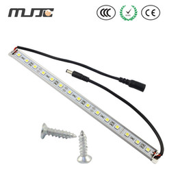 Wholesale MJJC Waterproof Under Cabinet LED Rigid Strips V DC LED Bar Light with M Adhesive Tape Aluminium Profile