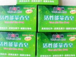 Wholesale 10pcs Tourmaline Handmade Soap Anti Bactericidal Soap Face Cleaning Bamboo Charcoal Soaps Anti Acne charcoal pictures