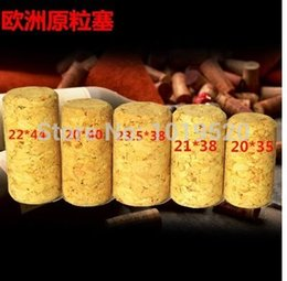 Wholesale softwood polymerization plug wine cork stipper plug diameter mm height mm