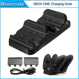 Xbox dual en Línea-Base de carga dual Para Mando inalámbrico Xbox Uno con el cable USB Batería en la acción 010208