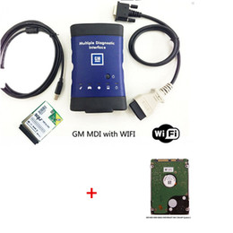 Wholesale Vauxhall Opel MDI Tech OEM Level Diagnostics GM MDI WORK TECH wifi card version HDD software DHL free