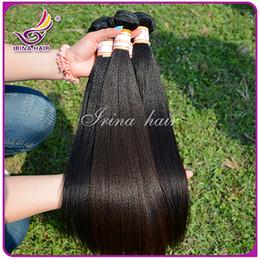 Wholesale New Arrival Brazilian Yaki Human Hair Grade A Light Yaki Virgin Hair Unprocessed Yaki Hair Extensions Cheap Brazilian Virgin Hair bBundle