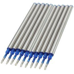 Wholesale 1PC Blue Roller Ball Pen Rpefills Medium Nib Advanced Ink Point Size mm Length cm High Quality
