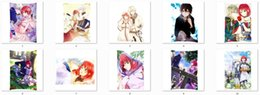 Wholesale Snow White with the Red Hair Character Shirayuki Zen Wistalia two side Pillowcase akagami no shirayukihime sides Cushion
