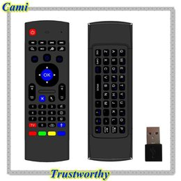 Wholesale Popular G Wireless Remote Control Mini Keyboard Air Mouse For XBMC Android TV Box Teclado aire rate Tonsee
