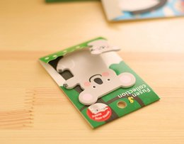 Wholesale CREATIVE NOTES LOVELY CARTON ANIMALS NOTES LOVE BABY CANBE USED N TIMES PACKING SIZE X6 CM