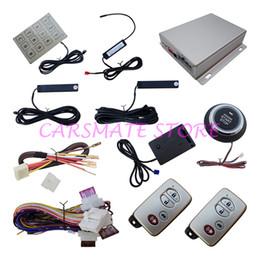 Wholesale Top Hopping Code Intelligent Smart Key PKE Car Alarm System With Vibration Sensor Remote Start Automatic Lock Unlock Passive Keyless Entry