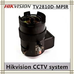Wholesale Hikvision TV2810D MPIRVari focal Auto Iris DC Drive MP IR Aspherical Lens