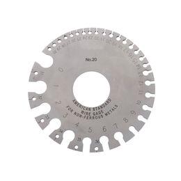 Wholesale Round Wire Gauge Weld Diameter Gauge Welding Inspection Stainless Steel Inch Inspection A W G Gauges American Standard