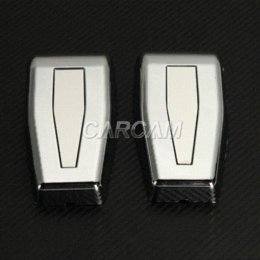 Wholesale Car Styling Chrome Rear Lift Gate Hinge Covers Offroad Auto Rear Upper Hardtop Window Hinges For Jeep Wrangler JK