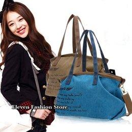 Promotion toile grand sac à main 2015 nouvelles femmes sacs à main épaule toile fleurs de couleur sac de bonbons filles totes dames toile grand sacs de femmes gros