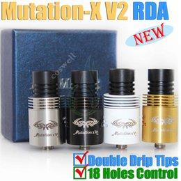 Wholesale Mutation X V2 RBA rebuildable Mods atomizer Mutation x clone vs tugboat Holy grail Legion Aris Aqua v2 ijust istick HAZE Origen Atlantis RDA