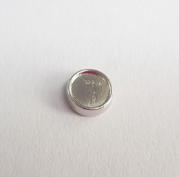 6mm inner 8mm outside diameter Silver circle setting Floating Charms for Glass Living Locket DIY blank photo Charm fit Locket