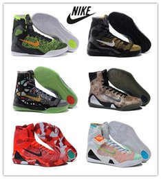 Wholesale Nike KOBE IX ELITE Basketball Shoes WHAT THE kobe Athletic boots Original quality sports shoes for men accept drop shipping