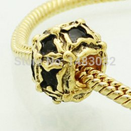 Wholesale Fits Pandoar Bracelets product gilded dark retro necklace beads fit Pandora bracelet is the best Christmas gift