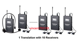 Wholesale Takstar WTG Wireless Acoustic Transmission System Tour Guiding Simultaneous Translation Audio visual Eduation transmitter receivers