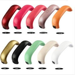 Hot Sell Professional Colorful USB 9W Nail UV Curing Lamp Mini Nail Gel Dryer LED Lamp