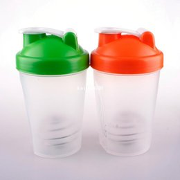 Wholesale New Smart Shake Gym Protein Shaker Mixer Cup Blender Bottle Within Whisk Ball