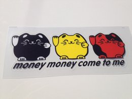 Wholesale The sales agent for many years the integrity of user body paste Lucky Cat car stickers car stickers cm cm