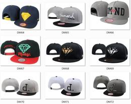 Sombreros casual para los hombres en venta-Hotsale Marca Diamond sombreros 5 tapas del panel snapback sombreros sombreros frescos sombreros personalizados hip hop gorras hombres sombreros de moda competitivos de alta calidad sombreros