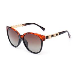 Promotion boîtes à bijoux dames 2016 Nouvelle dame lunettes de soleil de marque de luxe des femmes souligne du soleil bijoux avec boîte UV400 lunettes de soleil polarisées femmes polarisant lunettes