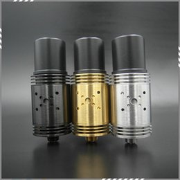 Wholesale Rebuildable Atomizer Mutilator Mutation X V3 RDA Tank mm Holes Control Airflow Indulgence Mutation x V3 Atomizer DHL Free