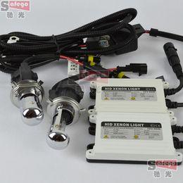 Wholesale 1set Top quality AC v w automobile H4 bixenon H4 kit HID CONVERSION KIT h4 k k bi xenon hid kit