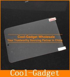 Wholesale Clear High Glossy Screen Protector Guard Film Shield Skin for Asus Google Nexus II VivoTab Note No Retail Package MCP713CLCG