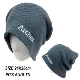 Wholesale-Brand New Skullies Fashion wool Knitted cap Winter Beanie Fashion Adult Men Outdoor Sports Punk hat Free shipping