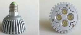Qualité 4W Par30 Lumières de point de LED E27 Éclairage de base de vis Matière de moulage sous pression Matériau en aluminium 4x1W Projecteur de puissance élevée Bombillas Dimmable CE ROSH à partir de dimmable e27 conduit 4x1w fabricateur