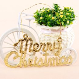 2015 New Listing Merry Christmas letters card Merry Christmas on the window 138