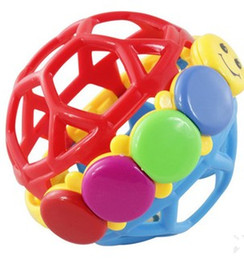 Funny bell ball grasping the ball baby toys High quality plastic colorful tactile senses movement crawling toys
