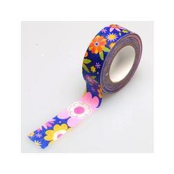 Wholesale Japanese Washi Tape Articulos De Papeleria Uned Limited Single side Tape Scrapbooking Tools Stickers New Pattern Flower Paper mm m