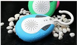 Wholesale high quality BTS bluetooth shower bass speaker handsfree portable Car stereo speaker with mic accept dropshipping from i power