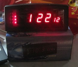 Wholesale Newsletter clock large screen LED electronic clock Chinese Talking Clock Music News