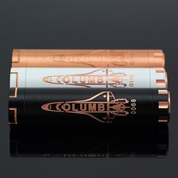 Wholesale Hottest Columbia Mod Electronic Cigarettes Mechanical Mod Battery for RDA Atomizer fit Battery