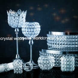 Freeshipping crystal candle holder, home decoration, 09wedding supplies, candlelight dinner,