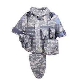 Wholesale OTV Tactical Vest Camouflage combat Body Armor With Pouch Pad ACU USMC Airsoft Military Molle Assault Plate Carrier CS Clothing
