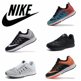 Wholesale Nike Air Zoom Elite Mesh Men Women Running Shoes Original Sneakers Mens Womens Cheap Walking Shoes Sports Lunar