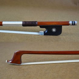 Wholesale Tourte Model Master Pure Silver Mounted Pernambuco Cello Bow Well Balanced