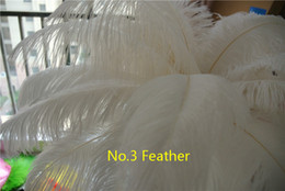 Wholesale 100 pcs 12-14inch White ostrich feather plume for wedding centerpiece Wedding party decoraction Home Decor